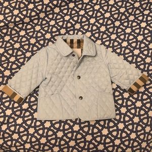 NWT Infant Burberry jacket. So adorable